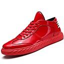 povoljno Komplet nakita-Muškarci Udobne cipele Lakirana koža / Prilagođeni materijali Proljeće / Zima Sneakers Null Crn / Crvena / Vanjski