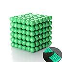 ราคาถูก ของเล่นแม่เหล็ก-125-1000 pcs 5mm Magnetiske leker ลูกบอลแม่เหล็ก Building Blocks ซูเปอร์แข็งแกร่งหายากของโลกแม่เหล็ก Neodymium Magnet บรรเทาความเครียด Klasszikus Globe Fluorescent Glow in the Dark / noctilucent
