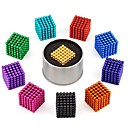 cheap Magnetic Building Blocks-216 pcs 3mm Magnet Toy Magnetic Balls Building Blocks Super Strong Rare-Earth Magnets Neodymium Magnet Puzzle Cube Neodymium Magnet Stress and Anxiety Relief Focus Toy Office Desk Toys Relieves ADD