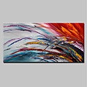 cheap Abstract Paintings-Oil Painting Hand Painted - Abstract Simple Modern Stretched Canvas