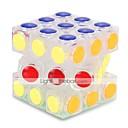 ราคาถูก Magic Cubes-เมจิกคิวบ์ IQ Cube Alien 3*3*3 สมูทความเร็ว Cube ก้อน Rubik's ปริศนา Cube ความเครียดและความวิตกกังวลบรรเทา ของเล่นโต๊ะทำงาน บรรเทา ADD, ADHD, ความวิตกกังวลออทิสติก ธีมคลาสสิก Places สำหรับเด็ก ผู้ใหญ่