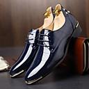 billige Slip-ons og loafers til herrer-Herre Komfort Sko Oxford Vår / Høst Britisk Oxfords Svart / Navyblå / Rød / Fest / aften / Nagle / Fest / aften / EU40