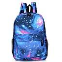 ราคาถูก School Bags-ทุกเพศ แพทเทิร์นหรือลายพิมพ์ ผ้าใบ กระเป๋าโรงเรียน กระเป๋าเป้สะพายหลัง ดาว สีแดงชมพู / น้ำเงินเข้ม