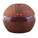 povoljno Smart Lights-yk30s mini prijenosni mješavina za kavu aroma eterična ulja difuzor ultrazvučna aroma ovlaživač svjetlo drveni usb difuzor