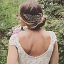 billiga Huvudsmycken till fest-Legering Hair Combs med Pärla 1st Bröllop / Fest / afton Hårbonad