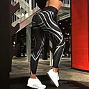 Χαμηλού Κόστους Εσωτερική Άσκηση-Γυναικεία Καθημερινά / Εξόδου Sexy Μονόχρωμο / Πριντ Γκέτα - Γεωμετρικό, Αθλητικό / Κομψό / Εκτύπωση Μαύρο M L XL / Στάμπα / Πολύ στενό