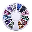 billiga Bergkristall&Dekorationer-Nail Glitter Mode Hög kvalitet Dagligen Smycken