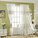 Χαμηλού Κόστους Κούρτινες Παραθύρου-πανέμορφες κουρτίνες αποχρώσεις δύο πάνελ υπνοδωμάτιο floral πολυεστέρα μείγμα κέντημα