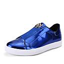 billige Sneakers til herrer-Herre Fashion Boots Tyll Vår / Høst Treningssko Pusteevne Svart / Gull / Sølv / Atletisk / Snøring / EU40