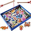 ราคาถูก ชุดของเล่นตกปลา-Board Game สัตว์ต่างๆ Magnetic ปฏิสัมพันธ์ระหว่างพ่อแม่และลูก ธีมคลาสสิก ทำด้วยไม้ คลาสสิก คลาสสิกและถาวร สำหรับเด็ก เด็กผู้ชาย เด็กผู้หญิง Toy ของขวัญ