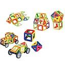 ราคาถูก บล็อกตัวต่อแม่เหล็ก-บล็อกแม่เหล็ก แผ่นแม่เหล็ก Building Blocks 26 pcs สติกเกอร์โปร่งใส คลาสสิกและถาวร เด็กผู้ชาย เด็กผู้หญิง Toy ของขวัญ