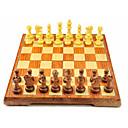 billiga Schackspel-Schackspel Familj Magnet Föräldra-Barninteraktion Extra large Trä Pojkar Flickor Leksaker Present 32 pcs
