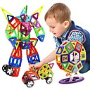 cheap Magnetic Building Blocks-Magnetic Blocks Magnetic Tiles Building Blocks 218 pcs People Vehicles Transformable Boys' Girls' Toy Gift