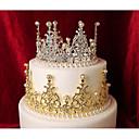 ราคาถูก ของตกแต่งหน้าเค้ก-อุปกรณ์แต่งหน้าเค้ก Fairytale Theme Romance แฟชั่น สไตล์หวาน เจ้าหญิง metal งานแต่งงาน วันเกิด กับ ไข่มุกเทียม เมตัลลิค 1 OPP