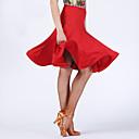 Χαμηλού Κόστους Ρούχα χορού λάτιν-Λάτιν Χοροί Παντελόνια Φούστες Γυναικεία Επίδοση Spandex Πλισέ Αμάνικο Χαμηλή Μέση Φούστες