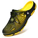 ราคาถูก รองเท้าClogs & Mulesสำหรับผู้ชาย-เจลซิลิก้า ฤดูร้อน ความสะดวกสบาย รองเท้าแตะและรองเท้าแตะ ลายบล็อคสี สีดำ / น้ำเงินเข้ม / สีเขียว