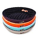 זול מיטות כלבים & שמיכות-כלב משטח למזרן מיטות שמיכות מיטה בד חיות מחמד משטחים אחיד אפור סגול כחול