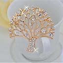 billiga Nålar och broscher-Dam Broscher Livets träd Elegant Brosch Smycken Guld Till Party Ceremoni