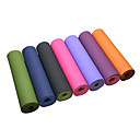 ราคาถูก โยคะ-เสื่อโยคะ 183*61*0.6 cm Odor Free เป็นมิตรกับสิ่งแวดล้อม Extra หนา Intranet Reinforcement High Density เหนียว TPE กันน้ำ Non Toxic ไม่ใช่ใบ สำหรับ Pilates ฟิตเนส Bikram สีดำ สีฟ้า สีม่วง