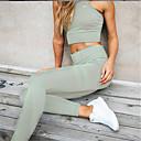 Χαμηλού Κόστους Εσωτερική Άσκηση-Γυναικεία Καθημερινά / Αθλητικά Sexy Αθλητικό Γκέτα - Μονόχρωμο, Αθλητικό / Κομψό Μαύρο Κρασί Πράσινο Χακί M L XL / Λεπτό