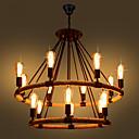 billiga Löparmössor, strumpor och ärmvärmare.-hampa rep hänglampa omgivande ljusmålade ytor metall mini stil 110-120v / 220-240v glödlampa ingår inte / fcc