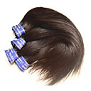 billige Hairextension med naturlig farge-Ubehandlet hår 7a Klassisk Peruviansk hår 200 g 12 måneder Daglig