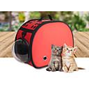 billiga Reseprodukter för hunden-Katt ryggsäck Husdjur Transportörer Värmeisolerad Enfärgad Röd Blå Rosa