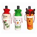 billiga Hårförlängningar i naturlig färg-3pcs Jul juldekoration, Holiday Decorations 26*13