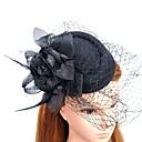 povoljno Stare svjetske nošnje-Perje / Net Fascinators / kape s Perje / krzno 1pc Vjenčanje / Special Occasion Glava