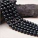 baratos Miçangas-Jóias DIY 38 pçs Contas Cristal Preto Redonda Bead 1 cm faça você mesmo Colar Pulseiras