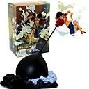 זול דמויות אקשן של אנימה-נתוני פעילות אנימה קיבל השראה מ One Piece Monkey D. Luffy PVC 26cm CM צעצועי דגם בובת צעצוע