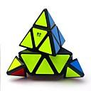 billiga Magiska kuber-Magic Cube IQ-kub QIYI A Pyraminx Alien 3*3*3 Mjuk hastighetskub Magiska kuber Stresslindrande leksaker Pusselkub Genomskinligt klistermärke Professionell Stress och ångest Relief Arkitektur Klassisk