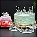 זול כלים לאפייה-קישוטים לעוגה נושא אגדות רומנטיקה יומהולדת נסיכות סגנון חמוד סגסוגת חתונה יום הולדת עם ריינסטון 1 OPP