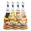Χαμηλού Κόστους Ράφια & Στγρίγματα-1pc Επιτραπέζια Διοργανωτές Ξύλο Δημιουργική Κουζίνα Gadget