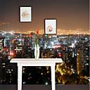 Χαμηλού Κόστους Τοιχογραφία-φωτισμένη πόλη νυχτερινή άποψη έθιμο 3d μεγάλες επενδύσεις τοίχων wallpapers μετριοπαθής εστιατόριο τηλεόραση φόντο πόλη