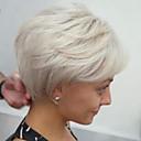 cheap Human Hair Capless Wigs-Human Hair Capless Wigs Human Hair Body Wave Layered Haircut / Short Hairstyles 2019 Side Part Machine Made Wig Women's
