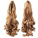 Χαμηλού Κόστους Παιχνίδια που Διώχνουν το Στρες-Κουμπωτό Αλογορουρές / Κομμάτι μαλλιών Καρφιά αρκούδας / σιαγόνας Φυσικά μαλλιά Κομμάτι μαλλιών Hair Extension Κυματιστό