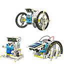 Χαμηλού Κόστους Σετ επιστήμης και εξερευνήσεων-14 in 1 GE615 Ρομπότ Παιχνίδια ηλιακής τροφοδότησης Οχήματα Αυτοκίνητο Μεταμορφώσιμος Φτιάξτο Μόνος Σου ABS Παιδικά Αγορίστικα Κοριτσίστικα Παιχνίδια Δώρο