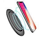 cheap Wireless Chargers-Qi Wireless Charger With Cable for iPhone X Xs MAX XR 8 plus Fast Charging for Samsung S8 S9 S10 Plus Note 9 8 USB Phone Charger Pad