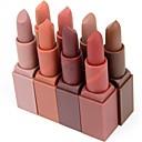 billiga Moduler-1 pcs 12 färger Vardagsmakeup Sminkredskap Läppstift Torr / Matt / Kombination Långvarig Smink Kosmetisk Dagligen Skötselprodukter