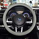 billige Bil-DVR-Rattovertrekk til bilen ekte lær 38 cm Beige / Grå / kaffe Til Universell General motors Alle år