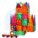 Χαμηλού Κόστους Κούκλες-Μαγνητικό μπλοκ Μαγνητικά πλακίδια Τουβλάκια 60 pcs Αρχιτεκτονική Μεταμορφώσιμος Πεπαλαιωμένο Στυλ Αγορίστικα Κοριτσίστικα Παιχνίδια Δώρο