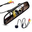 billige Ergonomiske displayer-ziqiao 4,3 tommers digital tft lcd speil skjerm og bil bakfra kamera farge nattesyn