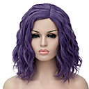 cheap Human Hair Wigs-Synthetic Wig Wig Purple Synthetic Hair Women's Purple