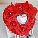 povoljno Jastuk za prstenje-Saten ring pillow Romantika / Vjenčanje Sva doba