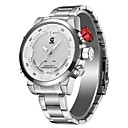 baratos Smartwatches-JEISO-1704 Masculino Relógios Alarme Relógio Multifunções Android iOS Other Multi funções Visão Nocturna LED Relogio Despertador Calendário