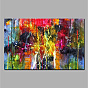 billige Abstrakte malerier-oljemaleri håndmalt abstrakt veggmaleri rullet lerret hjemme dekorasjon
