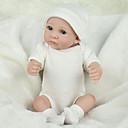 Χαμηλού Κόστους Κούκλες-NPKCOLLECTION NPK DOLL Κούκλες σαν αληθινές Παιδιά 12 inch Σιλικόνη πλήρους σώματος Σιλικόνη Βινύλιο - όμοιος με ζωντανό Χαριτωμένο Χειροποίητο Ασφαλής για παιδιά Non Toxic Lovely Παιδικά Κοριτσίστικα