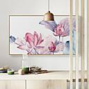 ราคาถูก ตาข่ายจับปลา-กรอบภาพแคนวาส ชุดกรอบภาพ - ภูมิประเทศ ลวดลายดอกไม้ / เกี่ยวกับพฤษศาสตร์ Plastic ภาพประกอบ ศิลปะผนัง