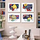 Χαμηλού Κόστους Εκτυπώσεις σε Κορνίζα-Καμβάς σε Κορνίζα Σετ σε Κορνίζα - Τοπίο Ζώα Πλαστικό Εικόνα Wall Art